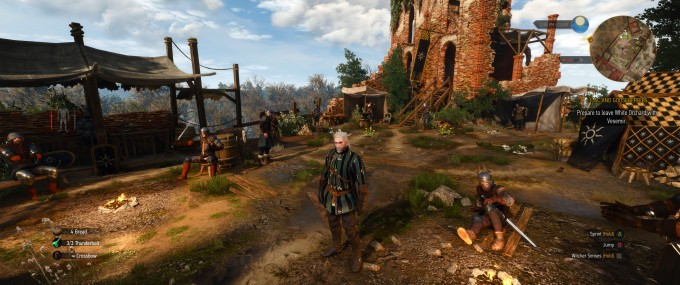 The Witcher 3 Wild Hunt at 3440x1440 Resolution