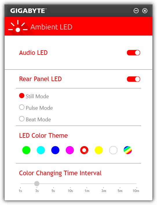 GIGABYTE Z170X-Gaming 7 - Ambient LED