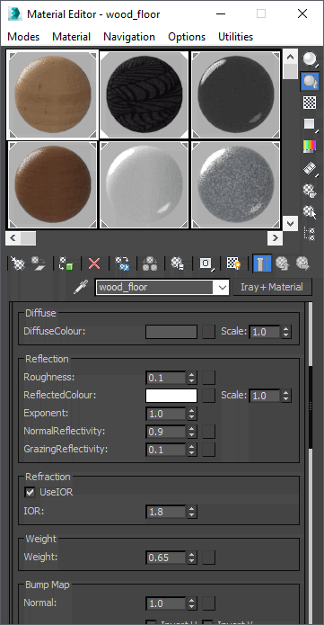 MDL Materials Used In Autodesk 3ds Max