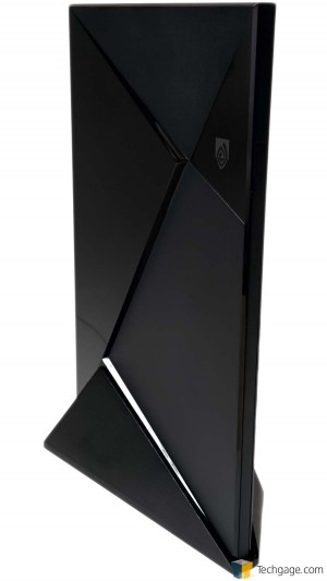 NVIDIA SHIELD Android TV Standing