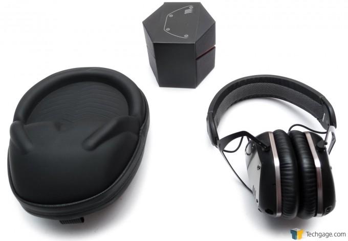 V-MODA Crossfade Wireless Bluetooth Headset - Hardcase And Headset