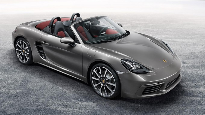 2016 Porsche 718 Boxster S - Front Angle