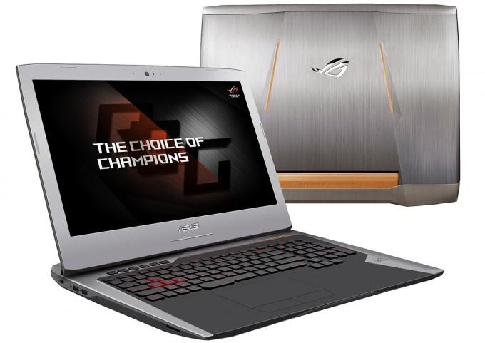 ASUS G752 Laptop Press Shot