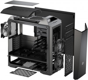 Cooler Master MasterCase Maker 5 Exploded Diagram