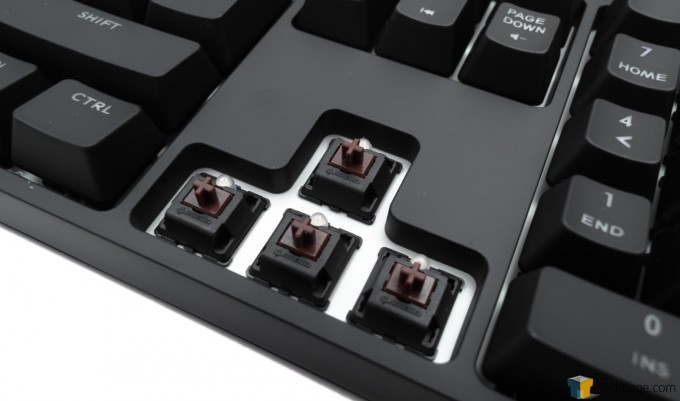 Cooler Master Quick Fire XTi Mechanical Gaming Keyboard - Cherry MX Switches - Brown