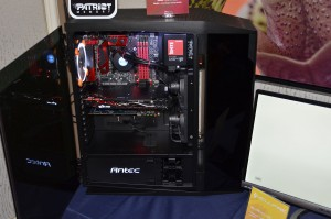 Custom PC Packed With Patriot Gear