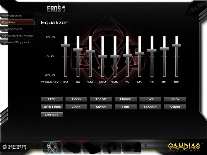 Gamdias Eros Elite EQ Settings