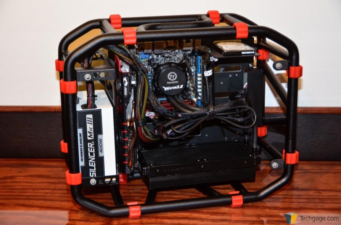 In Win D-Frame Mini - All Components Installed