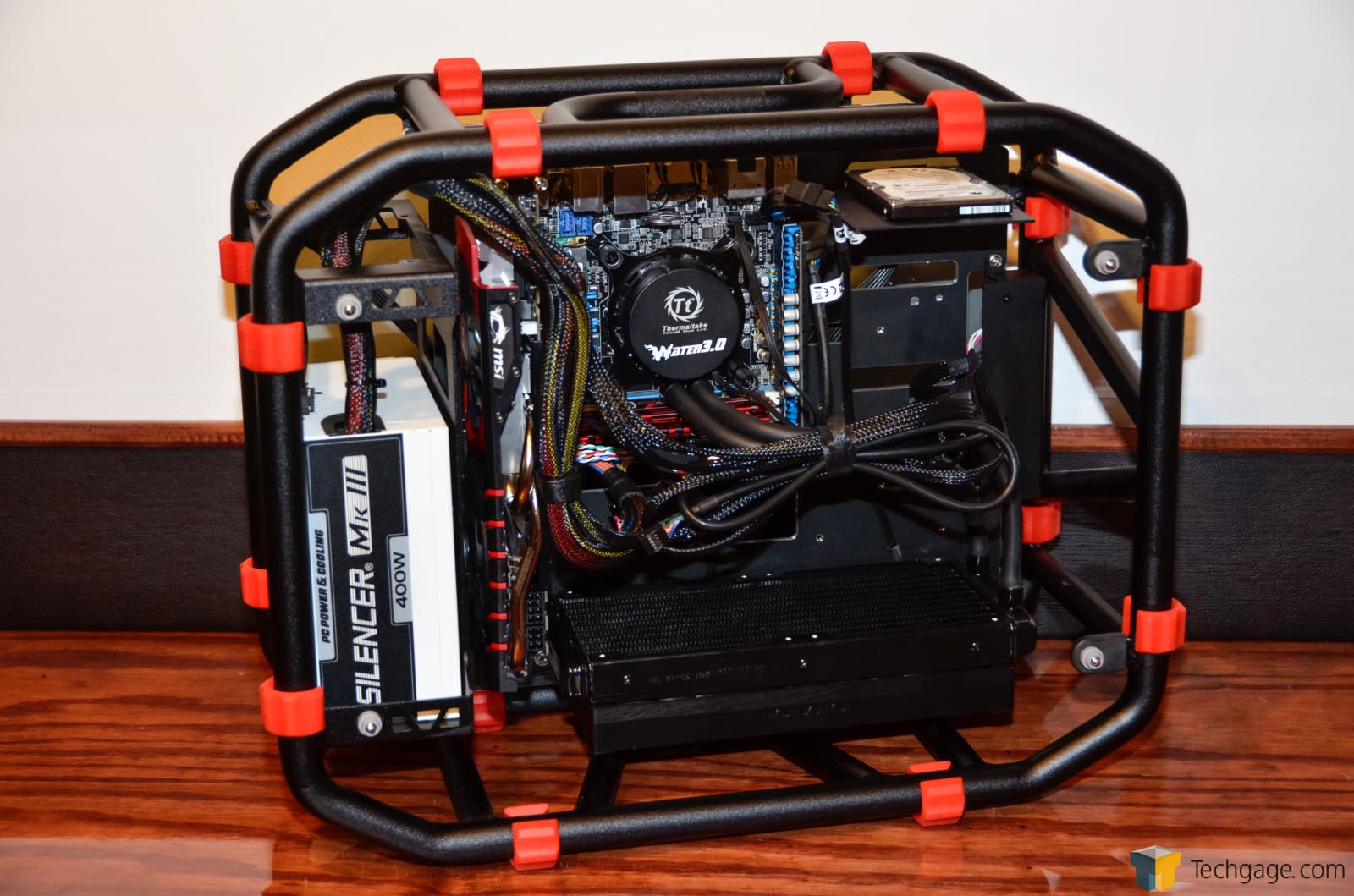 In Win D Frame Mini Chassis Review Techgage