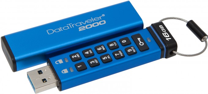 Kingston DataTraveler 2000 Encrypted Flash Drive
