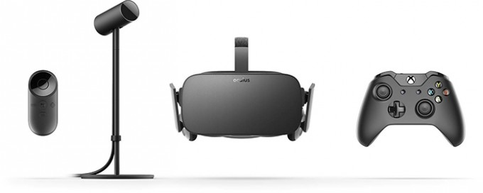 Oculus Rift Pre-Order Contents