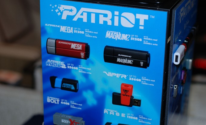 Patriot Flash Drive Lineup