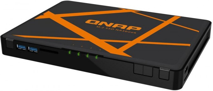 QNAP TS453A Portable NAS Press Shot