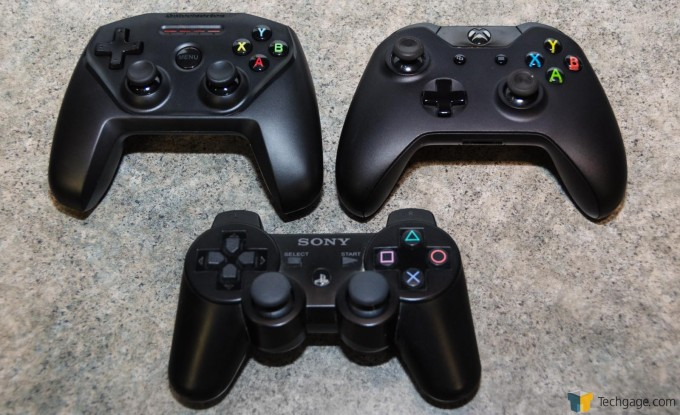 SteelSeries Nimbus Controller Comparison XBox And Dual Shock