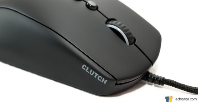 Techgage Review Of The FNATIC Clutch Gaming Mouse Clutch Closeup
