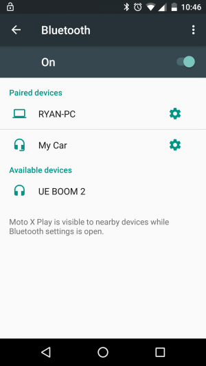 UE BOOM 2 - Device Pairing in Android