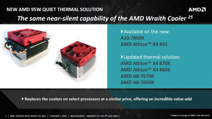 AMD 95W Enthusiast Stock CPU Cooler