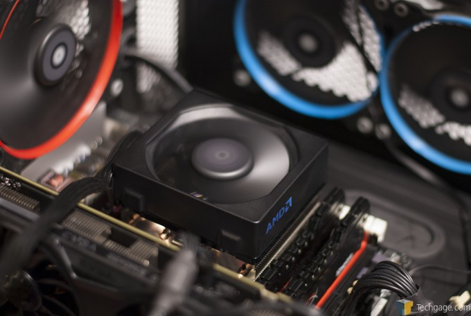 AMD Wraith CPU Cooler - In Action