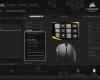 Corsair Scimitar RGB CUE Software 02 - Select Action