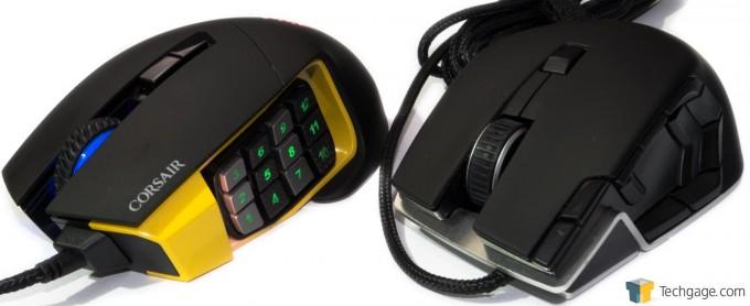 Corsair Scimitar RGB & M90 Side-by-Side