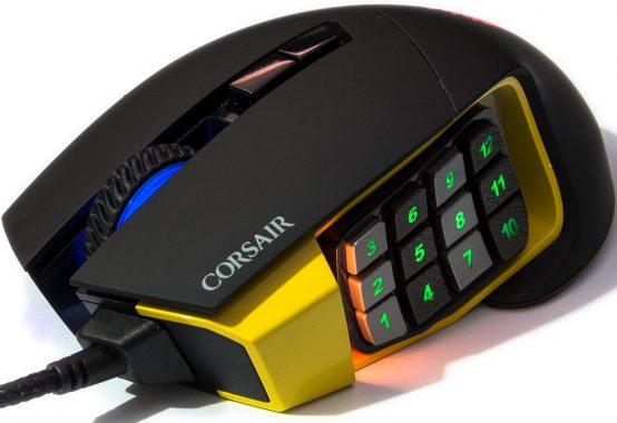 Corsair Scimitar RGB MMO Gaming Mouse Review – Techgage