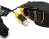 Corsair Scimitar RGB MMO Mouse - Quarter View With Cable