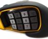 Corsair Scimitar RGB MMO Mouse - Thumb Button Slider Back