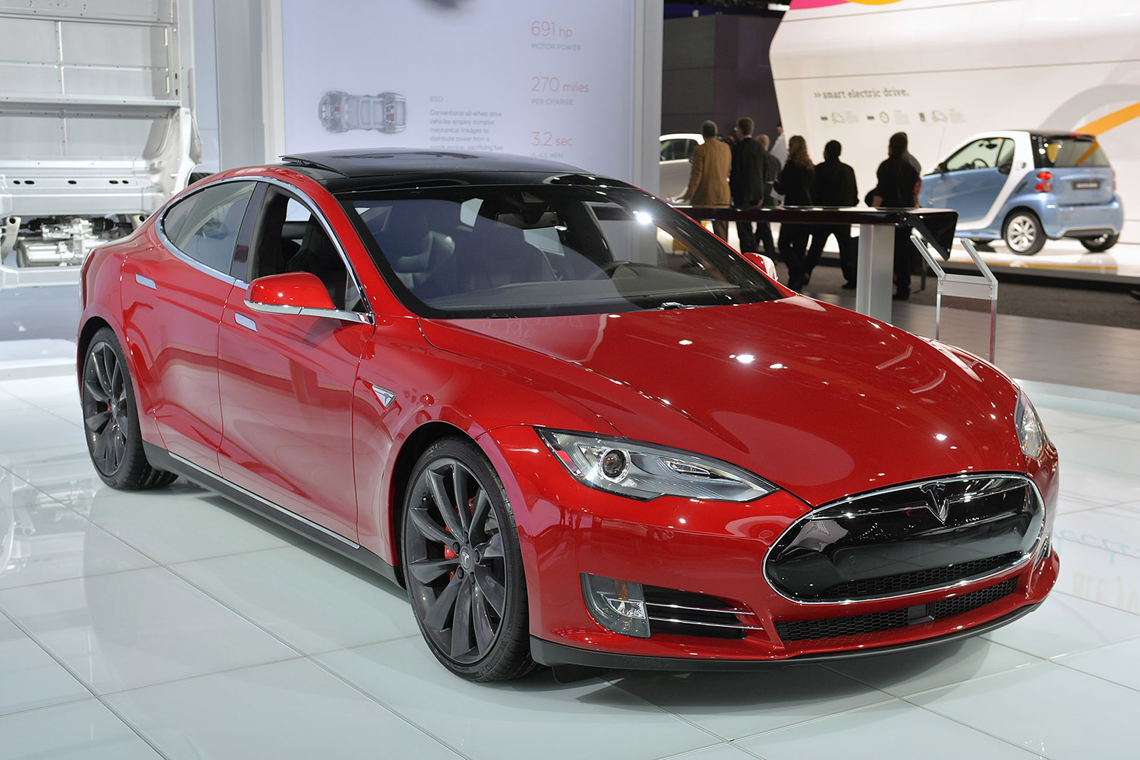tesla s latest electric vehicle is the 35 000 model 3 pre orders begin march 31 techgage. Black Bedroom Furniture Sets. Home Design Ideas