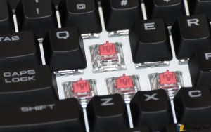 Corsair Strafe RGB Silent Keyboard (4) Exposed Silent Keys