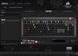 Corsair Strafe RGB Silent Keyboard Screen Cap (3) CUE Color Selecters