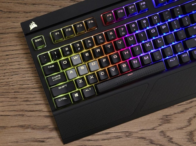Corsair Strafe RGB Silent Press Shot