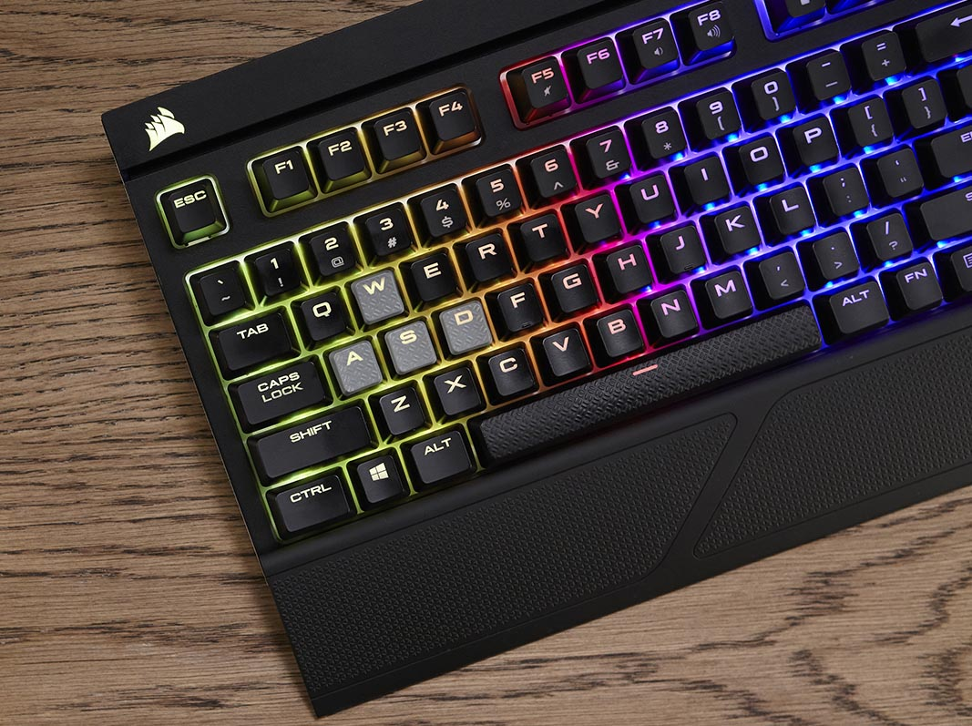 424fc28009c Corsair Strafe RGB Silent Mechanical Keyboard Review – Techgage