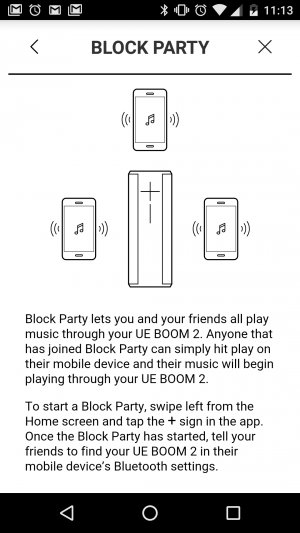 UE BOOM 2 - Block Party