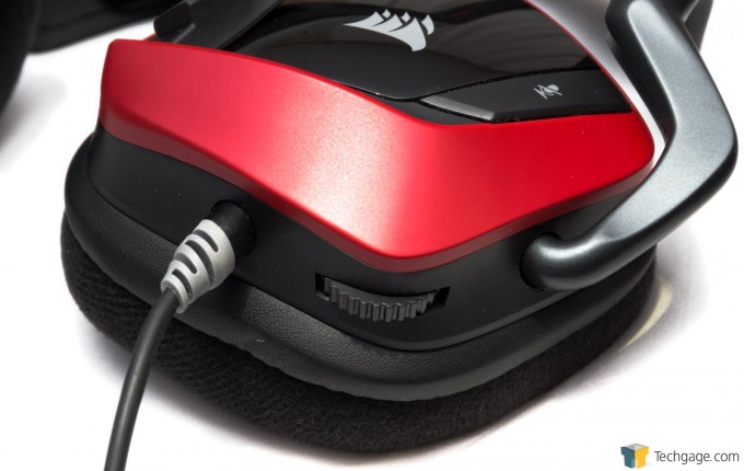 Corsair VOID Surround Hybrid Stereo Headset - Volume Control