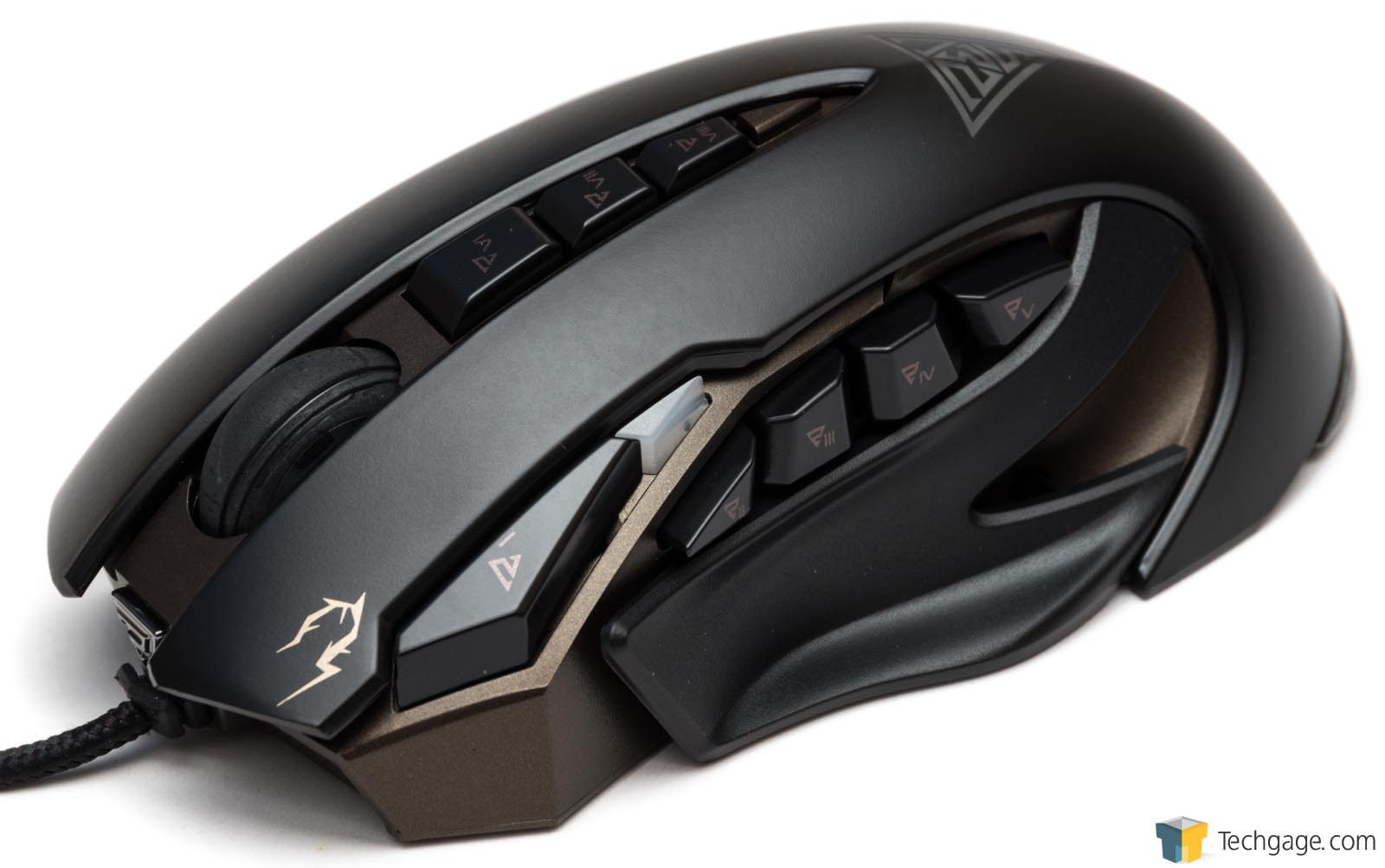 GAMDIAS ZEUS Laser Gaming Mouse Review – Techgage