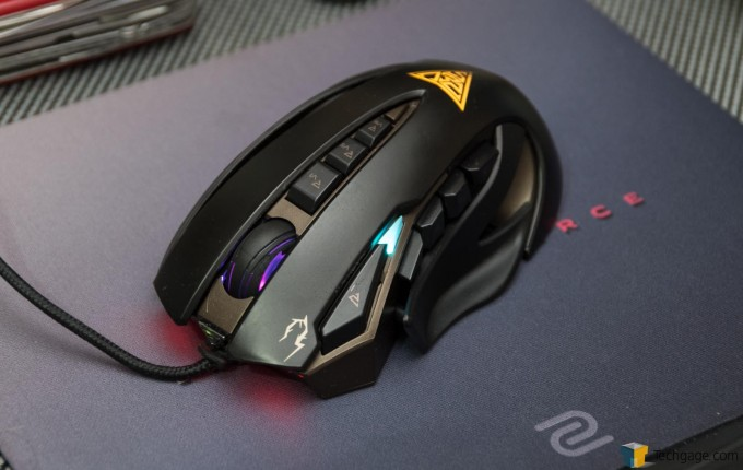 GAMDIAS Zeus Laser Mouse 12 - Lights On