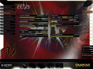 GAMDIAS Zeus Laser Mouse Hera Software - Preferences