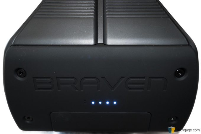 Braven BRV-XXL Charge Level Indicator