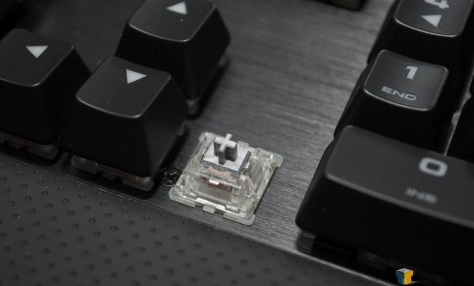 Corsair K70 RAPIDFIRE (5) - Grey Cap Of Rapidfire Switch