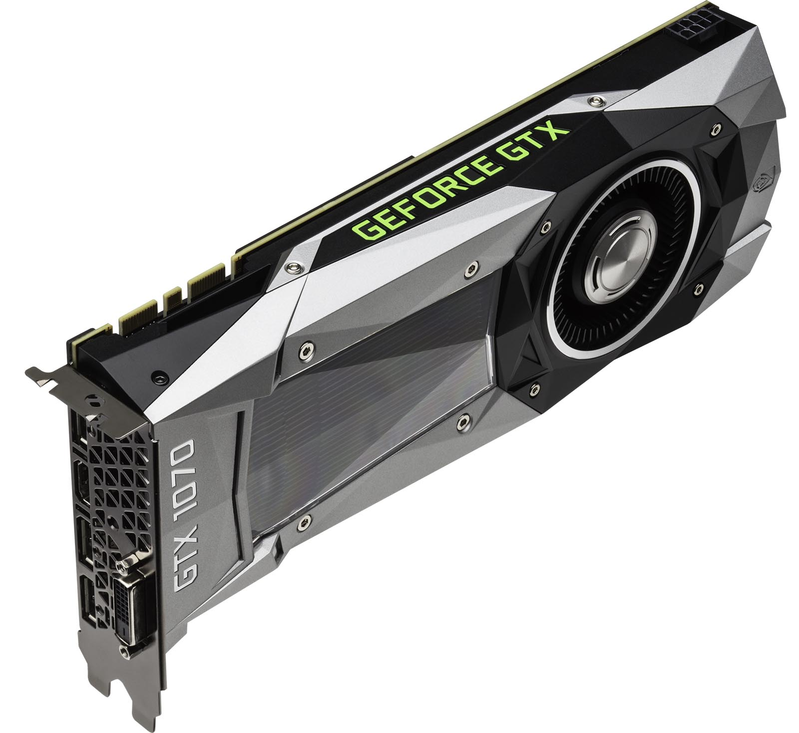 A Quick Preview Of NVIDIAs GeForce GTX 1070 Techgage : GeForce GTX 1070 3qtr top left Press Image PC Gaming <strong>Setup</strong> from techgage.com size 1600 x 1468 jpeg 125kB