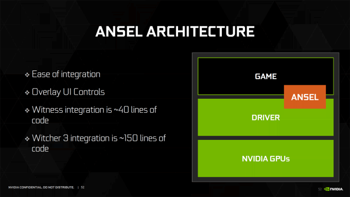 NVIDIA Ansel Architecture Slide
