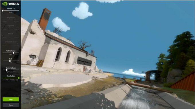 NVIDIA Ansel Screenshot