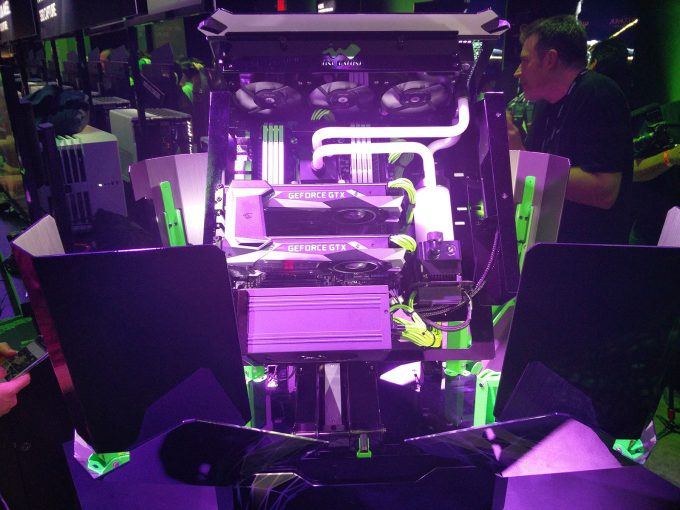 NVIDIA GeForce GTX 1080 SLI'd Gaming PC