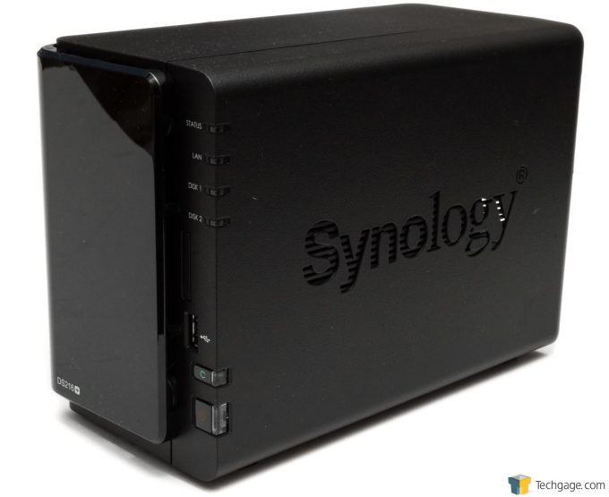 Synology DS216+ NAS - Quarter View