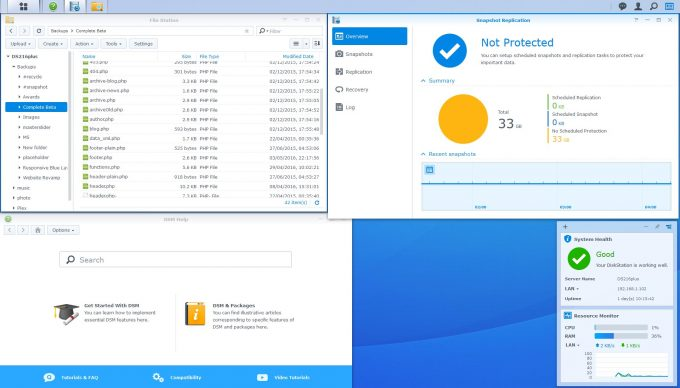 Synology DSM 6.0 Snapshot Replication