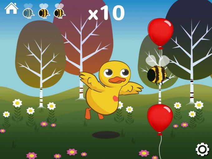 Edwin The Duck Review Main App Balloon Pop (6)