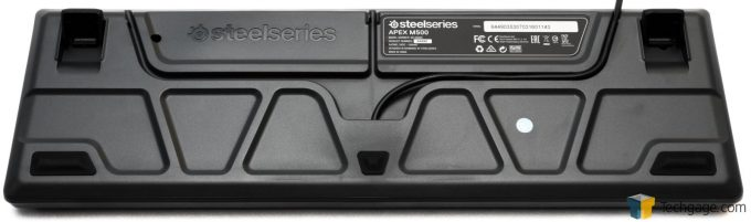 SteelSeries APEX M500 Rear Cable Routing