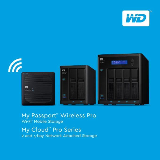 The New WD Pro Series Simplifies Content Creatorsu0027 Workflow (PRNewsFoto/Western Digital Corp  sc 1 st  Techgage & Western Digital Announces New WD Pro Series Wireless Hard Drive and ...