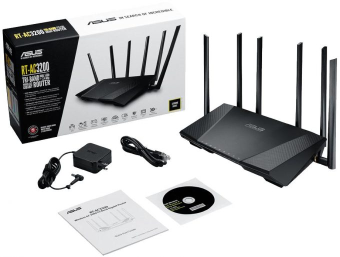 ASUS RT-AC3200 Press Accessory Pack