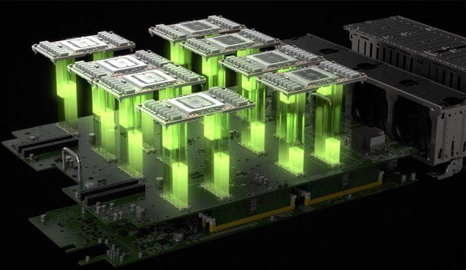NVIDIA DGX-1 Exploded View Of Tesla P100 GPUs